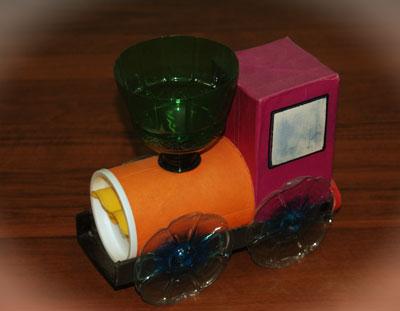 Машинка своими руками из подручных материалов для детского сада 38